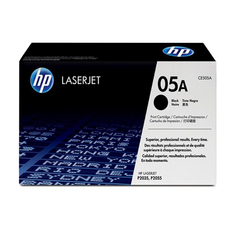 惠普打印机硒鼓CE505A 黑色
