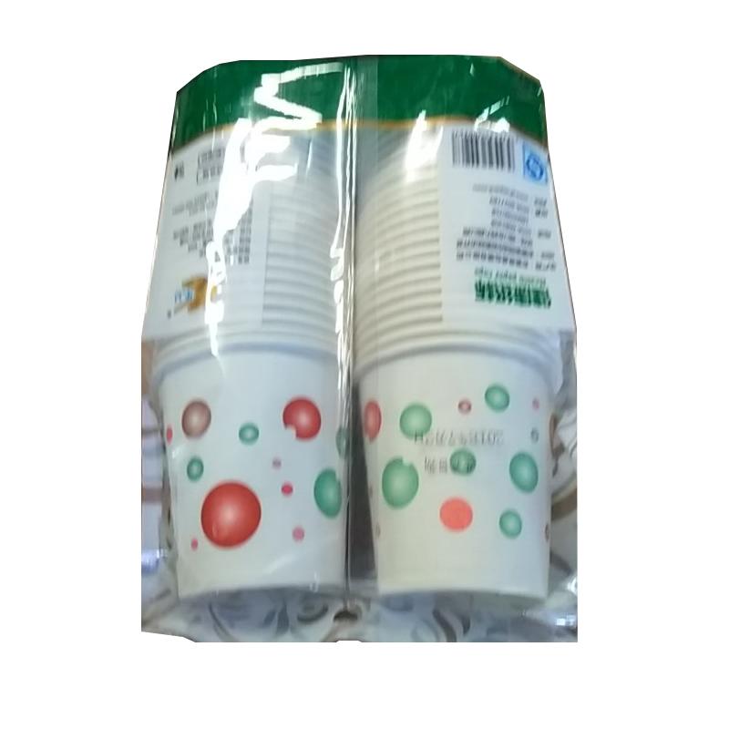 乐口 健康纸杯 180ML/实惠型 7安士 50只/包