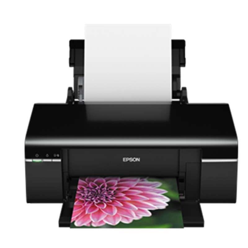 爱普生喷墨相片打印机R330 光盘打印黑色