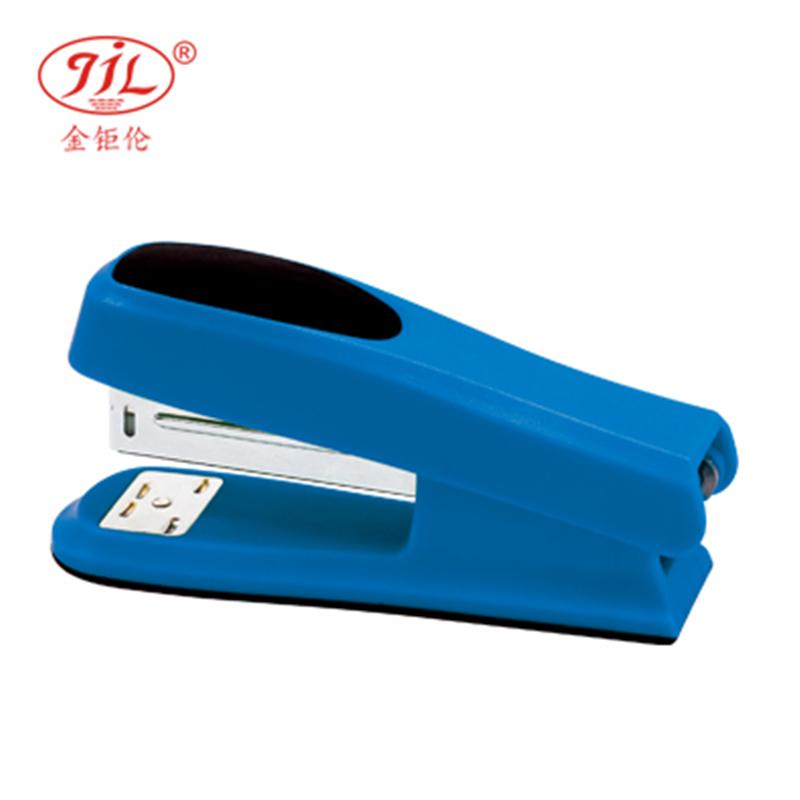 金钜伦 订书机 JS1301A  时尚型塑胶订书机 12#、26/6 混色