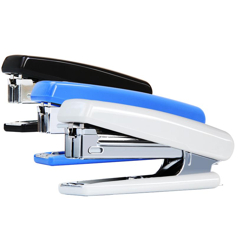 金钜伦 订书机 JS1003A 时尚型塑胶订书机 10# 混色