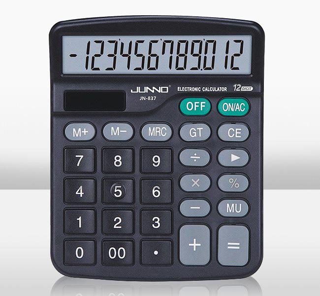 尊能 JN-837 计算器  厂家直销 1*20*80