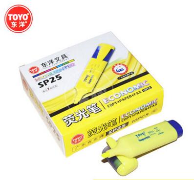 东洋荧光笔SP-25 4.2-4.6mm黄色