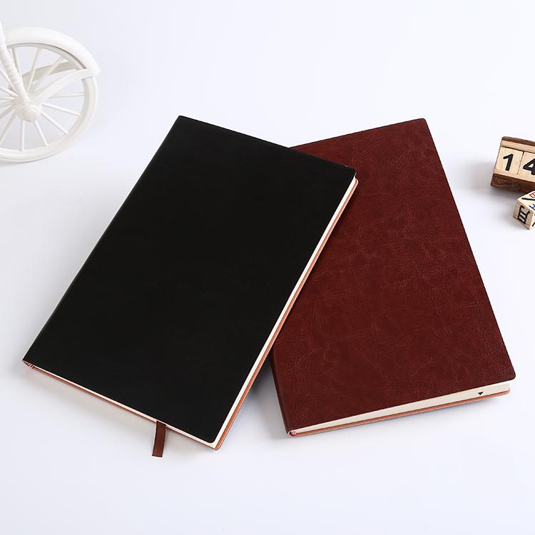 金开来 a4记事本办公用品文具笔记本日记簿韩国商务皮本子96张
