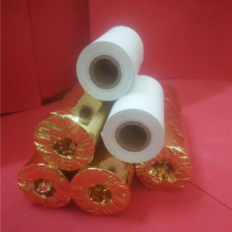 热敏收银纸 80x50 直径44mm  100卷/箱 新旧包装随机发货