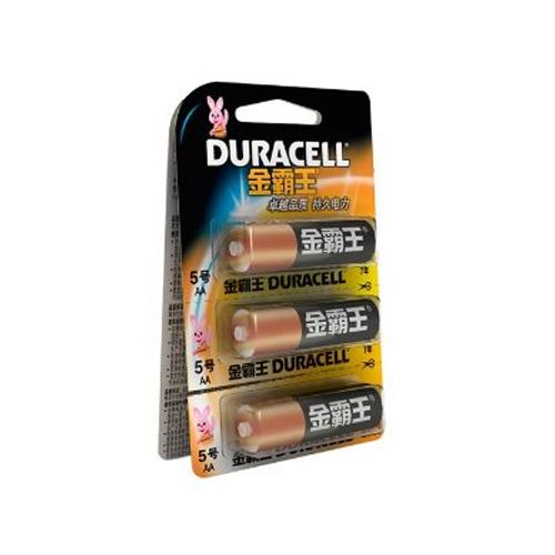 金霸王电池 碱性5号电池 6粒/卡(可撕)