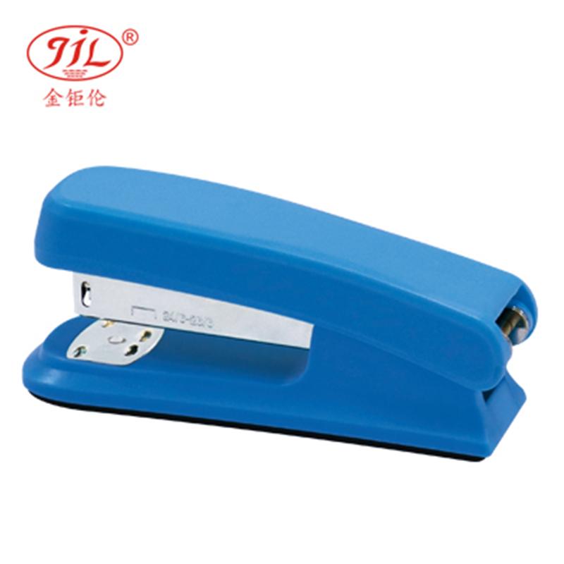 金钜伦 订书机 JS1300A 时尚型塑胶订书机 12#、26/6 混色