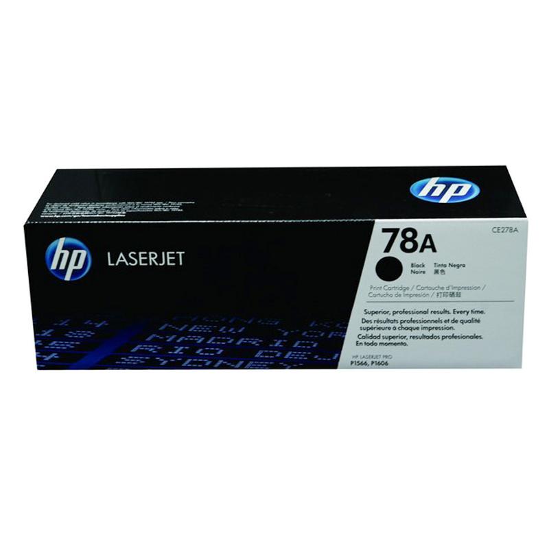 惠普打印机硒鼓CE278A 黑色