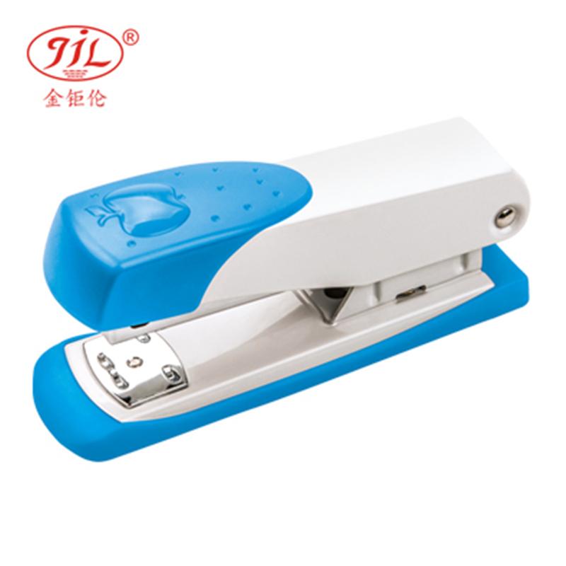 金钜伦 订书机 JS1009A 传统型五金订书机 12#、26/6 混色