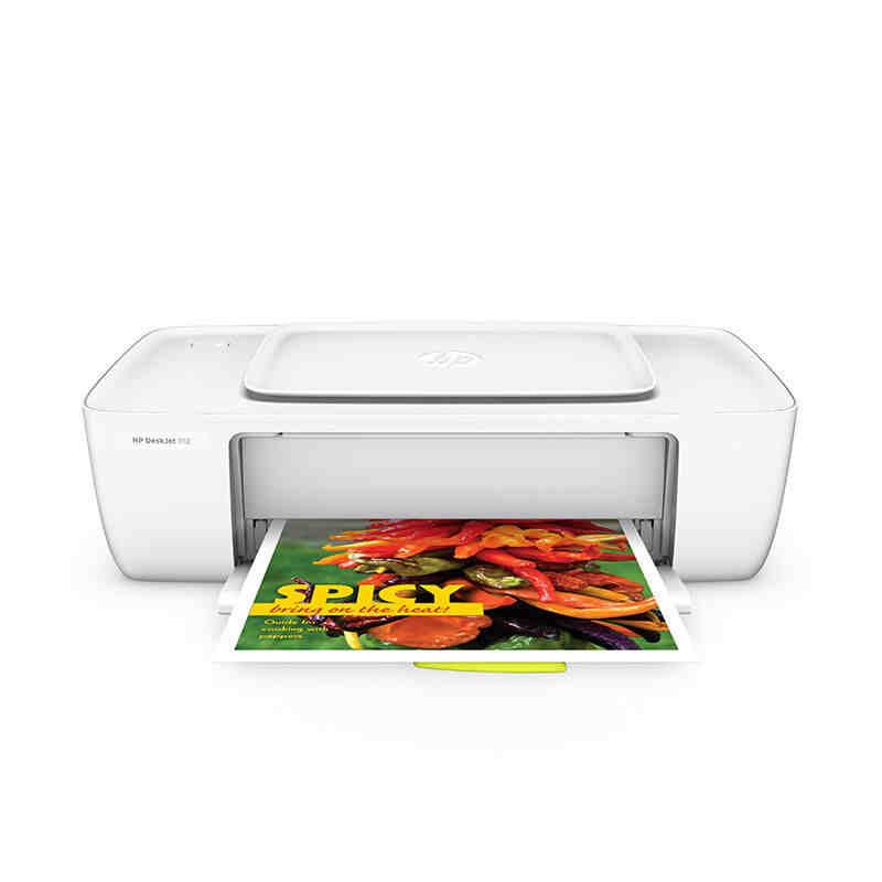 惠普喷墨打印机 DJ1112 白色 (替代DJ1010)