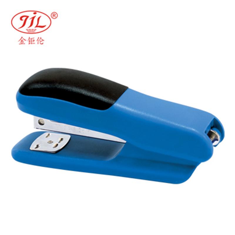 金钜伦 订书机 JS1302A 时尚型塑胶订书机 12#、26/6 混色