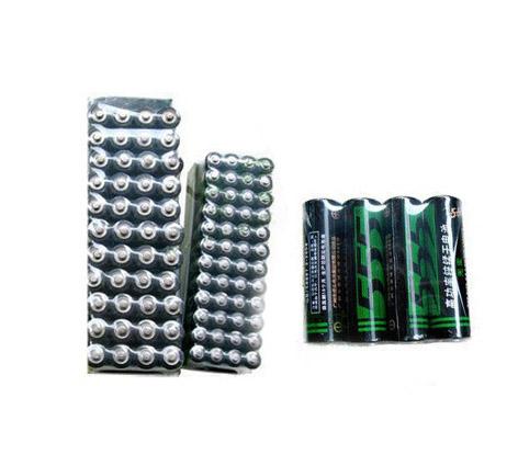 555高功率锌猛碳性5号电池 4粒简易装