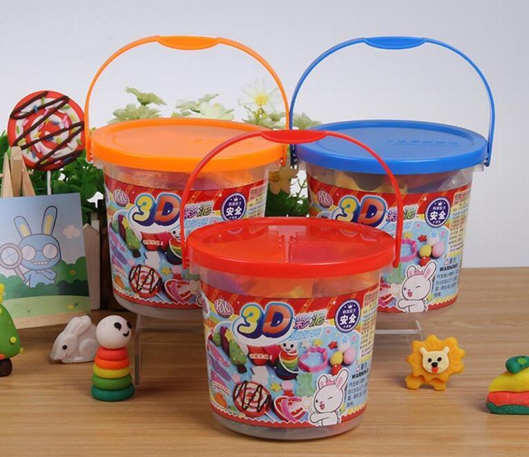 智高18色24色3D彩泥橡皮泥 儿童幼儿益智手工玩具套装KK-329