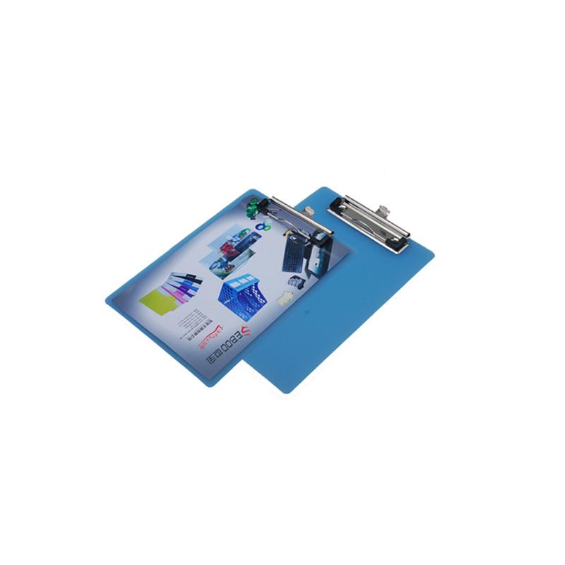世宝 写字板夹 SC-269 A5 透明平板夹(PP) 蓝色