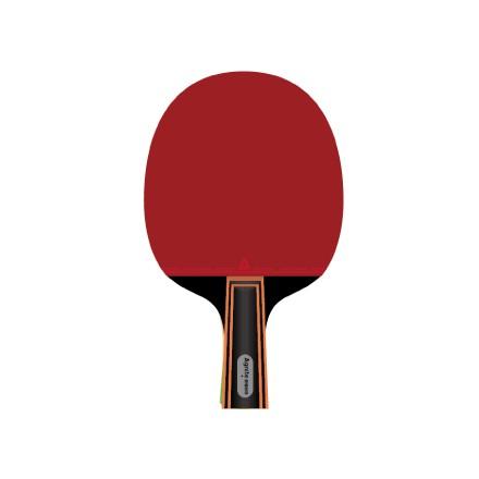 安格耐特F2321乒乓球拍(正红反黑)