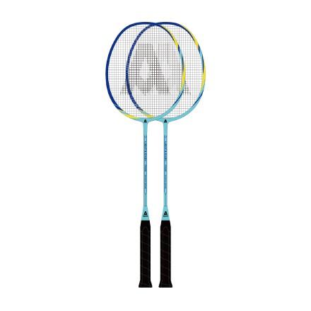 安格耐特羽毛球拍F2102蓝色2个/副 铝合金+全碳素 G5