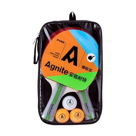 安格耐特F2330乒乓球拍(正红反黑)(2个/副)