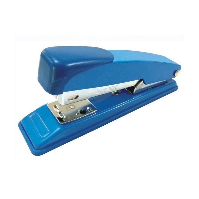 金钜伦 订书机 JS1206A 传统型五金订书机 12#、26/6 混色