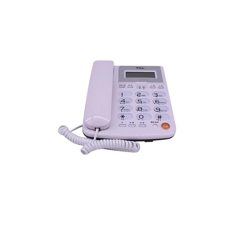 电话机 TCL202 来去电查询 一键回拨