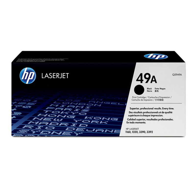 惠普打印机硒鼓Q5949A 黑色