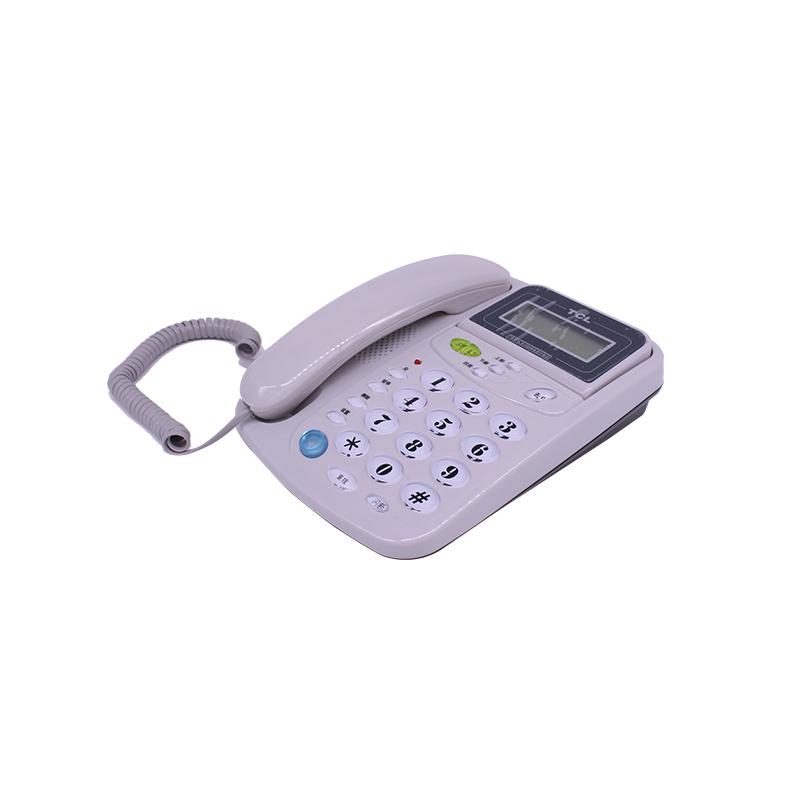 TCL电话机 TCL17B 来电显示 双线接口
