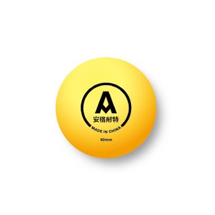 安格耐特F2390Y乒乓球(黄色)(60个/桶)