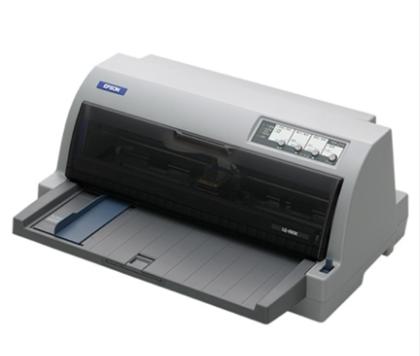 爱普生  平推针式打印机 LQ-690K 高速高负荷106列 平推针式打印机 快递单1+7联票据销售单打印机