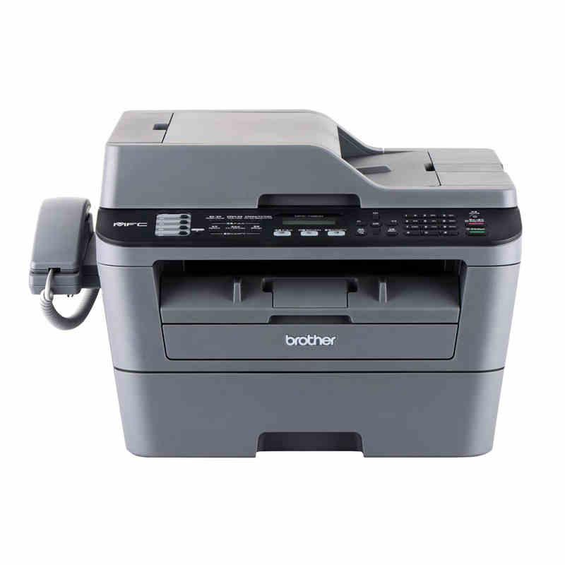 兄弟MFC-7480D黑白激光多功能一体机 A4幅面 打印/复印/传真/扫描(双面打印,自动进稿器)