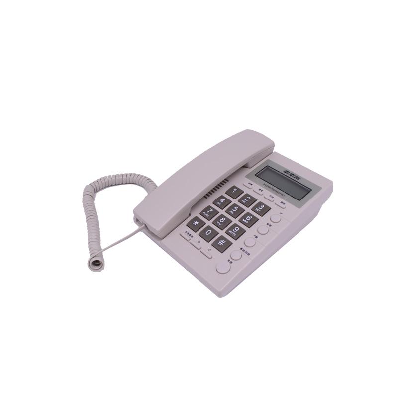 步步高电话机 步步高6082 来电显示 白色/雅蓝色 混色随机出货