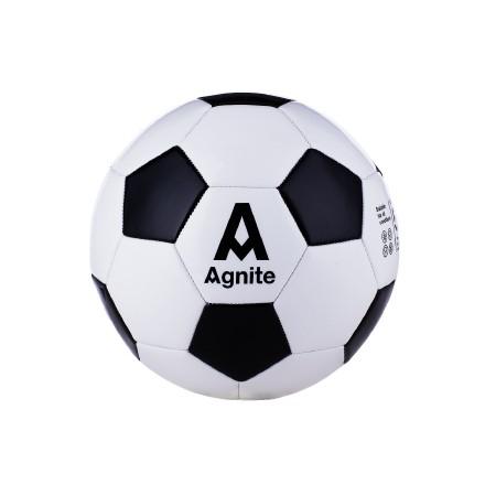 安格耐特F1203_PVC机缝足球(黑+白)