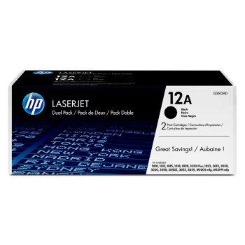 惠普(HP)LaserJet Q2612AC系列 12A激光打印机黑色硒鼓 Q2612AF-4000页